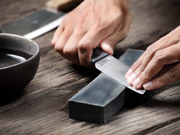 Messer Schleifstein