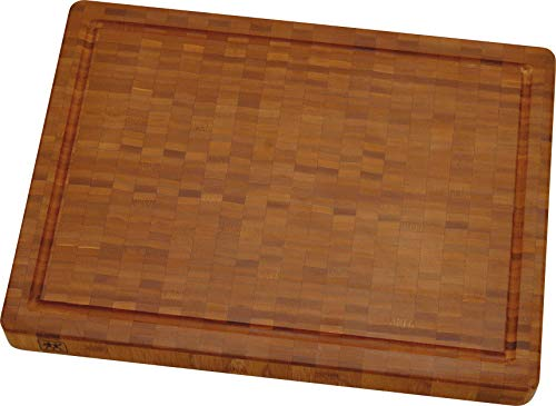 Zwilling 30772100 Schneidbrett, Bambus, mittel 36 X 25.5 X 3 cm